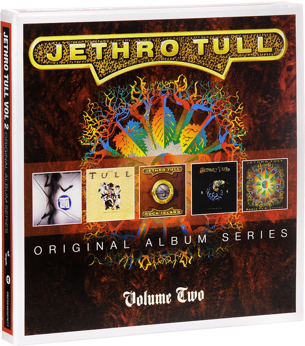 Jethro Tull Jethro Tull. Original Album Series. Vol.2 (5 CD) swiss kubik шкатулка для часов swiss kubik sk04 cv003 wp