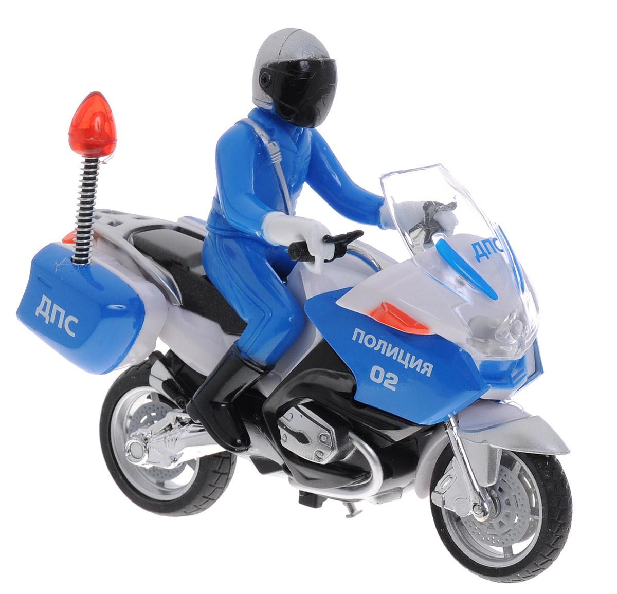 ТехноПарк Мотоцикл с фигуркой Полиция ДПС