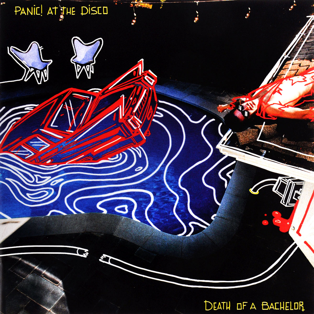 Panic! At The Disco Panic! At The Disco. Death Of A Bachelor panic at the disco panic at the disco death of a bachelor