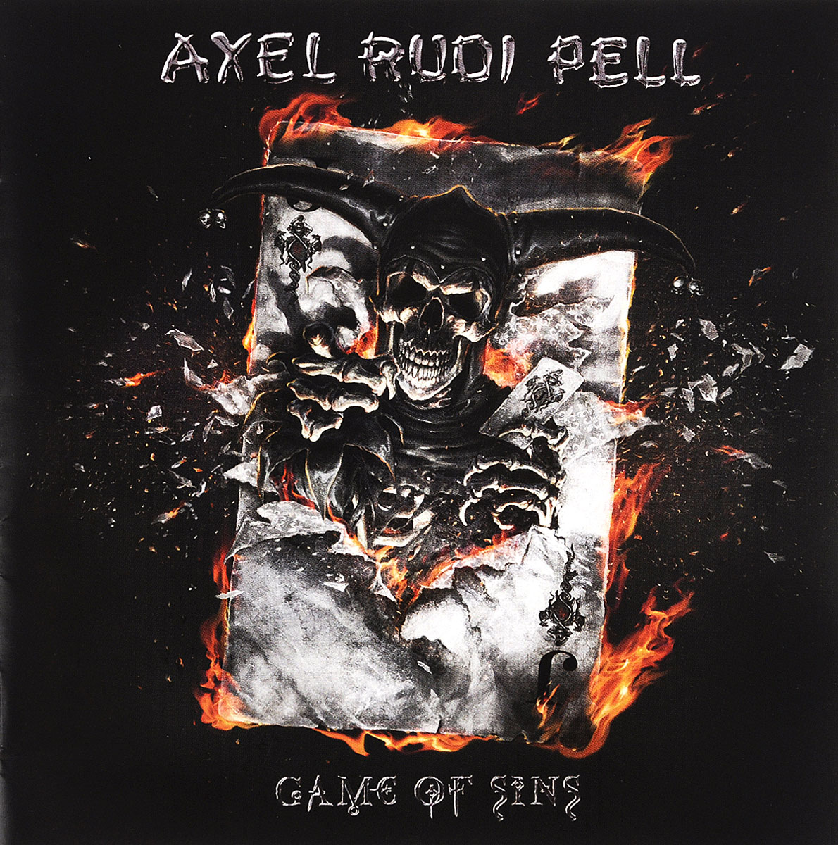 Аксель Руди Пелл Axel Rudi Pell. Game Of Sins рубашка fore axel