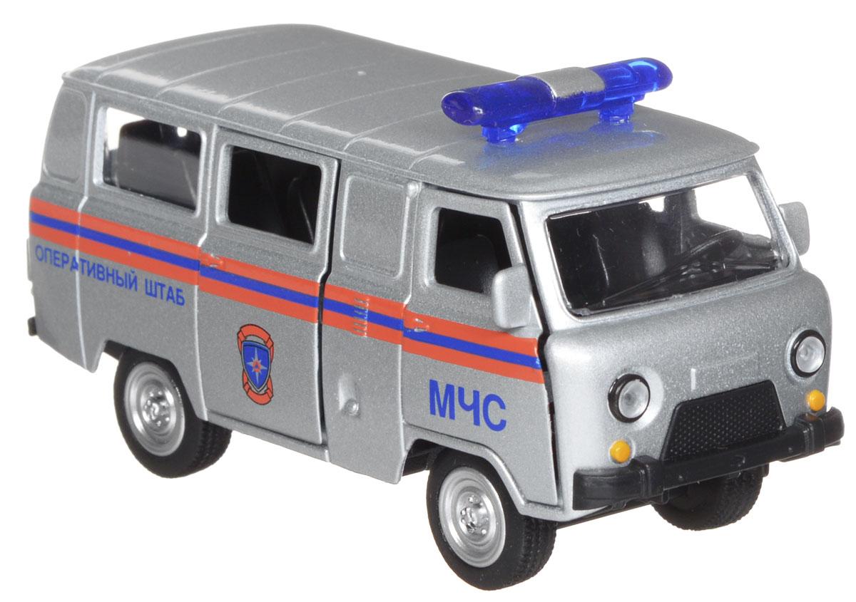 ТехноПарк Модель автомобиля УАЗ 39625 МЧС autotime модель автомобиля uaz 39625 мчс россии