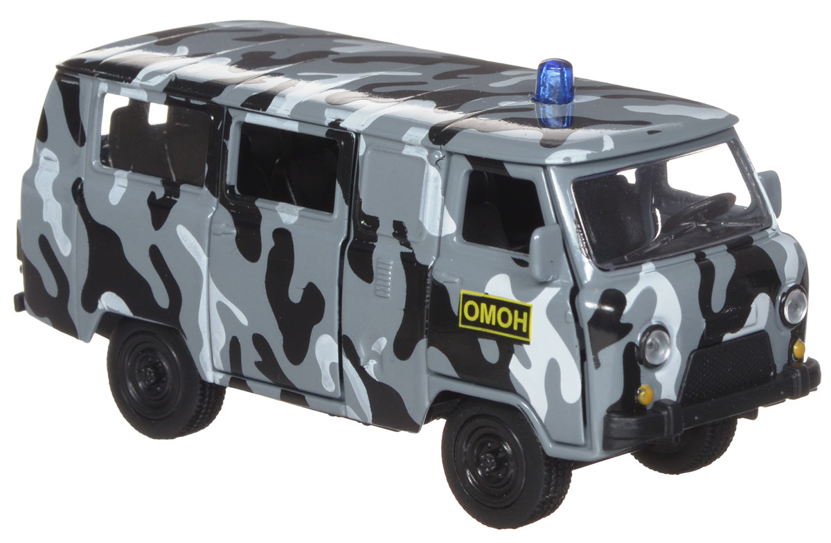 ТехноПарк Модель автомобиля УАЗ 39625 ОМОН autotime модель автомобиля uaz 39625 омон