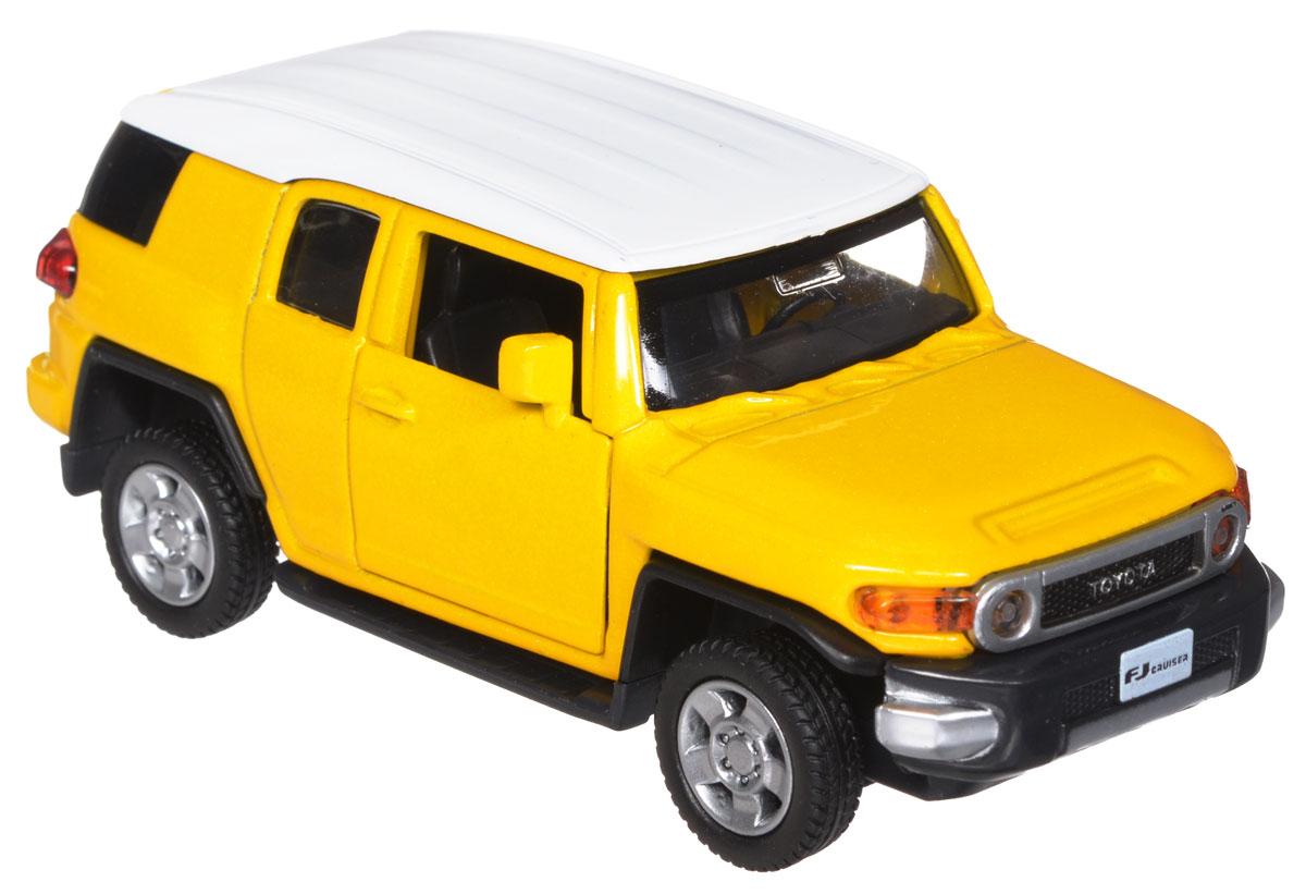 ТехноПарк Модель автомобиля Toyota FJ Cruiser цвет желтый for toyota fj cruiser 2007 13 double