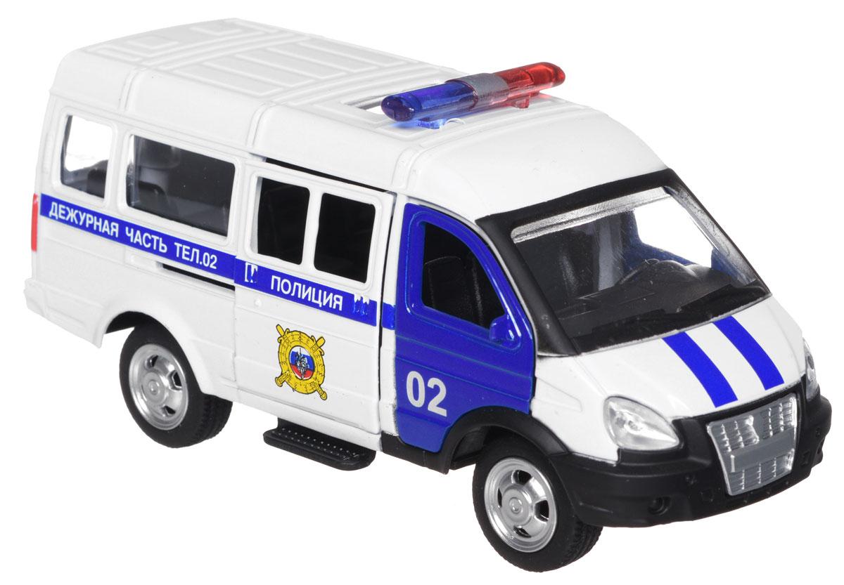 ТехноПарк Модель автомобиля Газель Полиция tonka машинка полиция