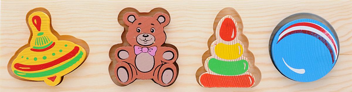 Томик Пазл для малышей Игрушки smile decor пазл для малышей мишка