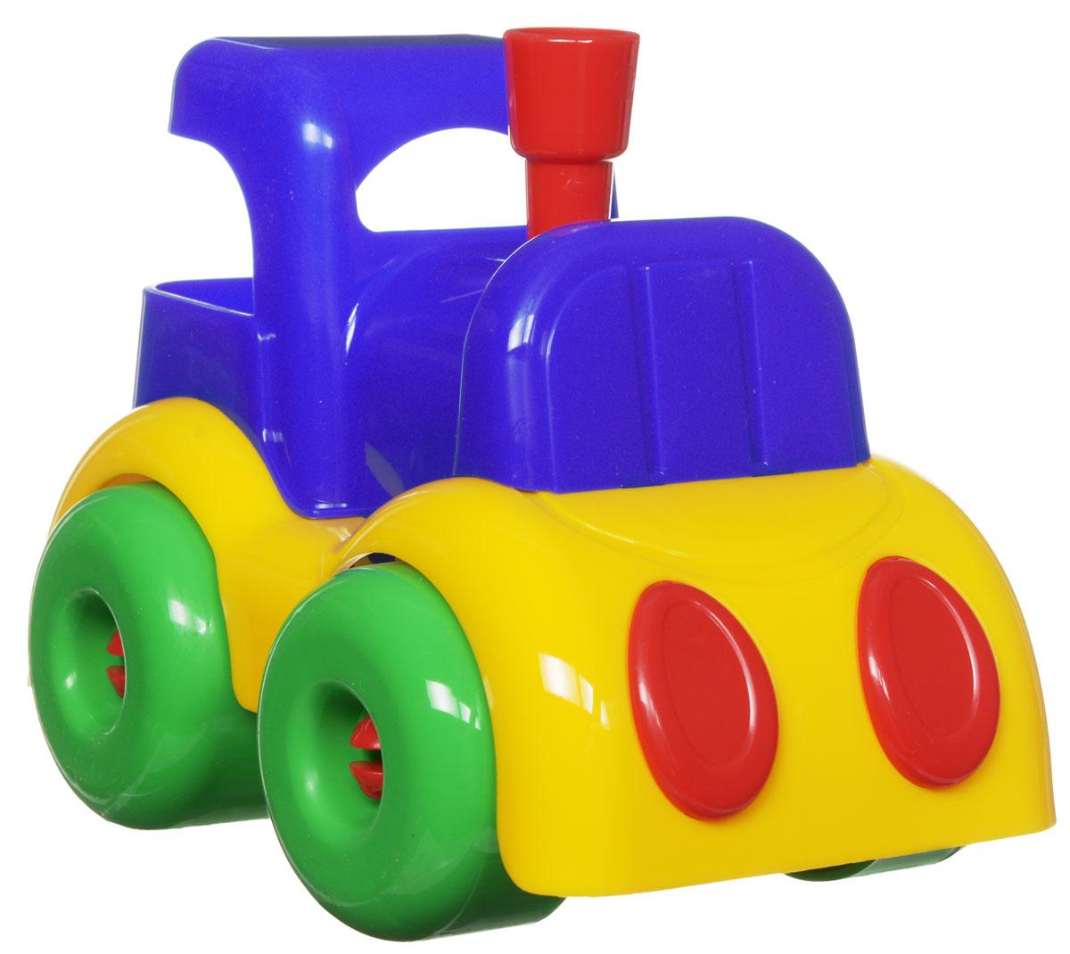 Пластмастер Паровозик Малышок плэйдорадо 12015 каталка паровозик малышок 1 15 р63146