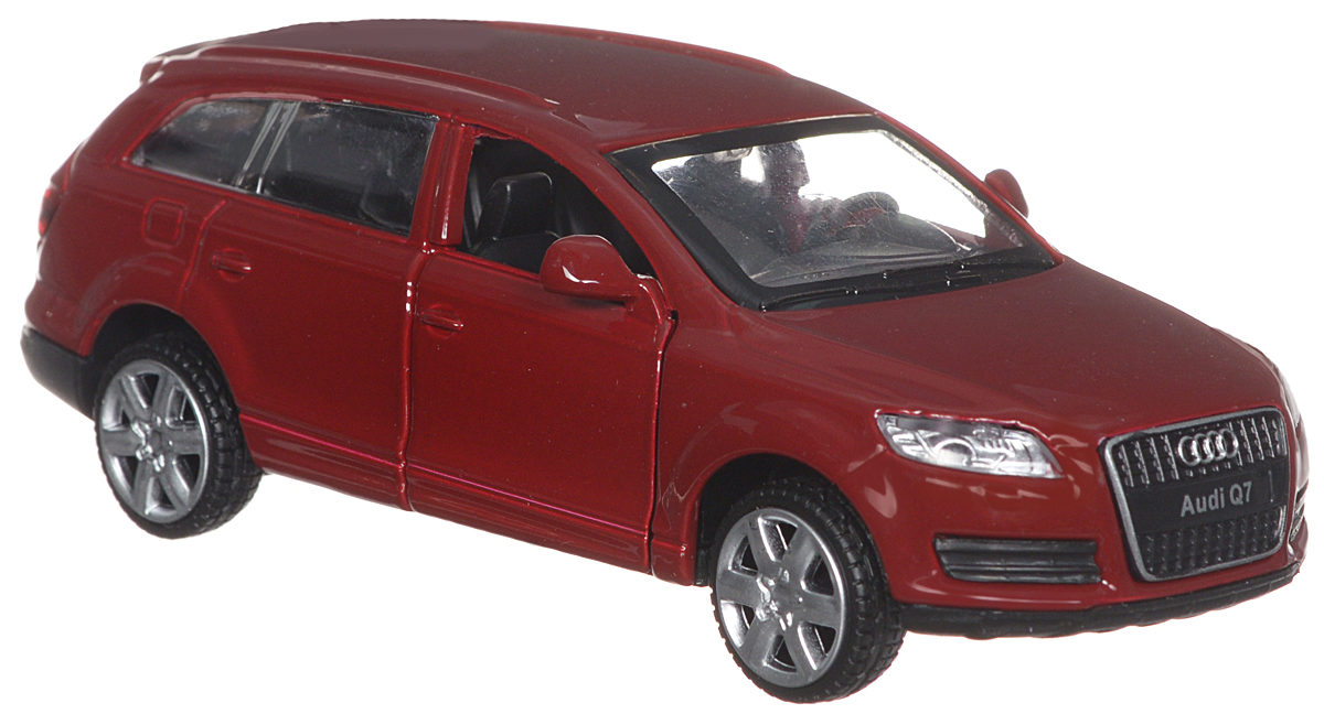 ТехноПарк Модель автомобиля Audi Q7 цвет бордовый