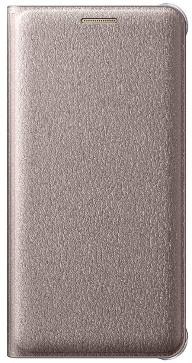 Samsung EF-WA310 Flip Wallet чехол для Galaxy A3 (2016), Gold чехол для смартфона samsung galaxy j7 2017 flip wallet розовый ef wj730cpegru ef wj730cpegru