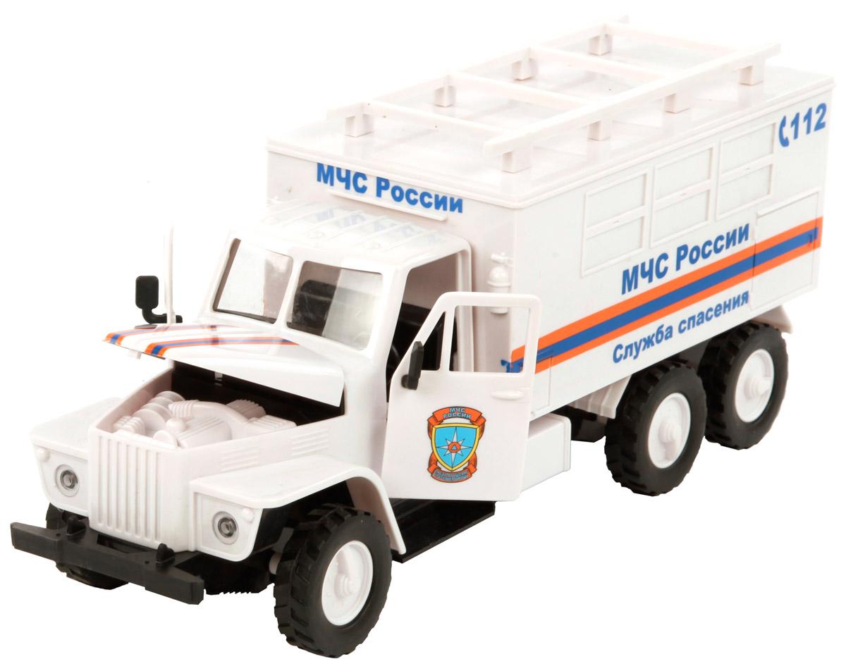 Пламенный мотор Машинка инерционная МЧС России Служба спасения пламенный мотор инерционная джип военный 1 24