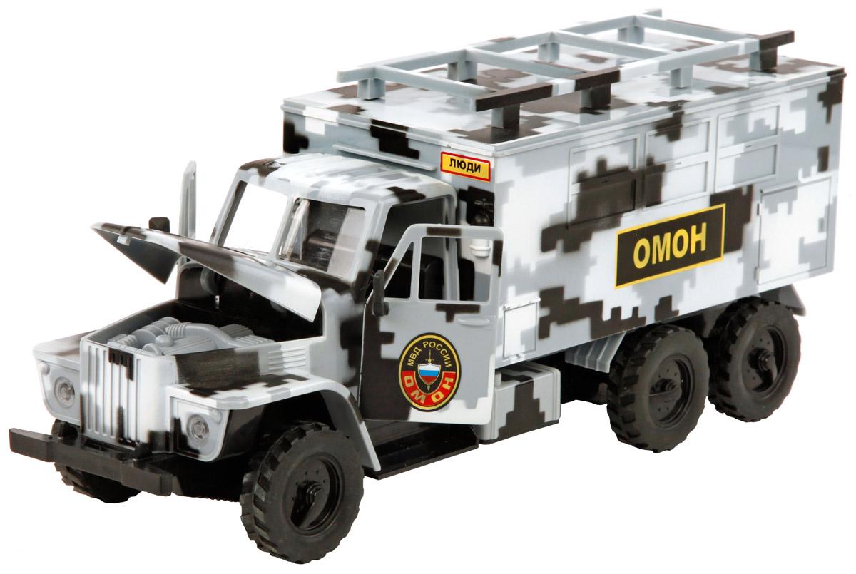 Пламенный мотор Машинка инерционная Омон пламенный мотор инерционная джип военный 1 24