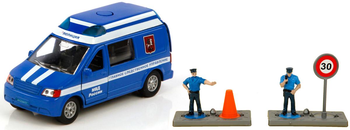 Пламенный мотор Машинка Полиция МВД России Главное следственное управление машинка пламенный мотор внедорожник 87593