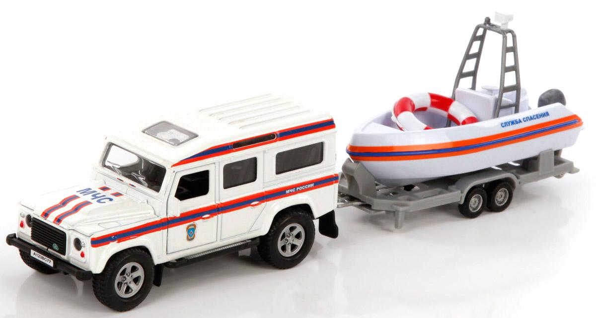 Пламенный мотор Модель автомобиля Land Rover МЧС машинка пламенный мотор внедорожник 87588