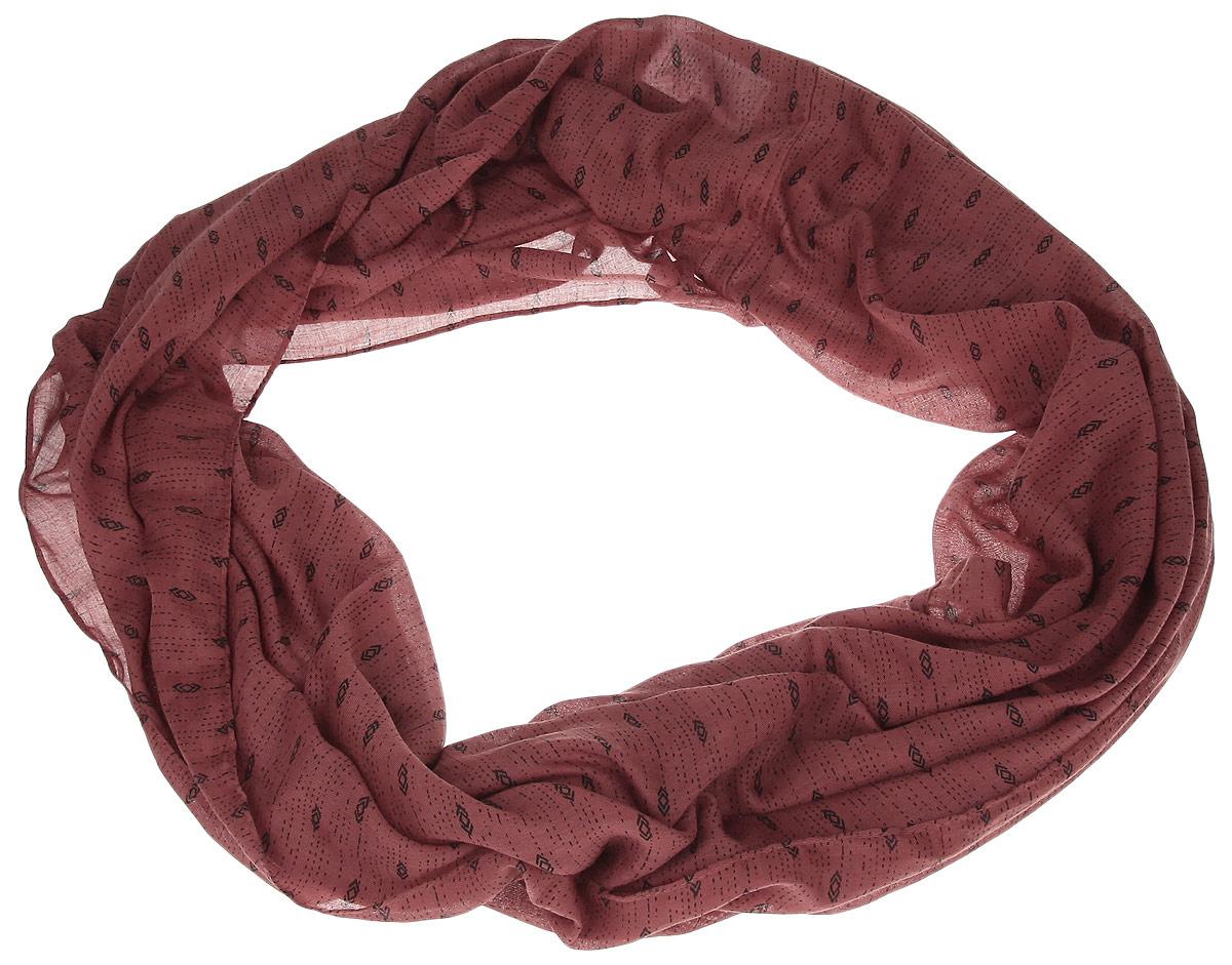 Снуд-хомут женский Tom Tailor Denim, цвет: кирпичный. 0220093.00.71. Размер универсальный