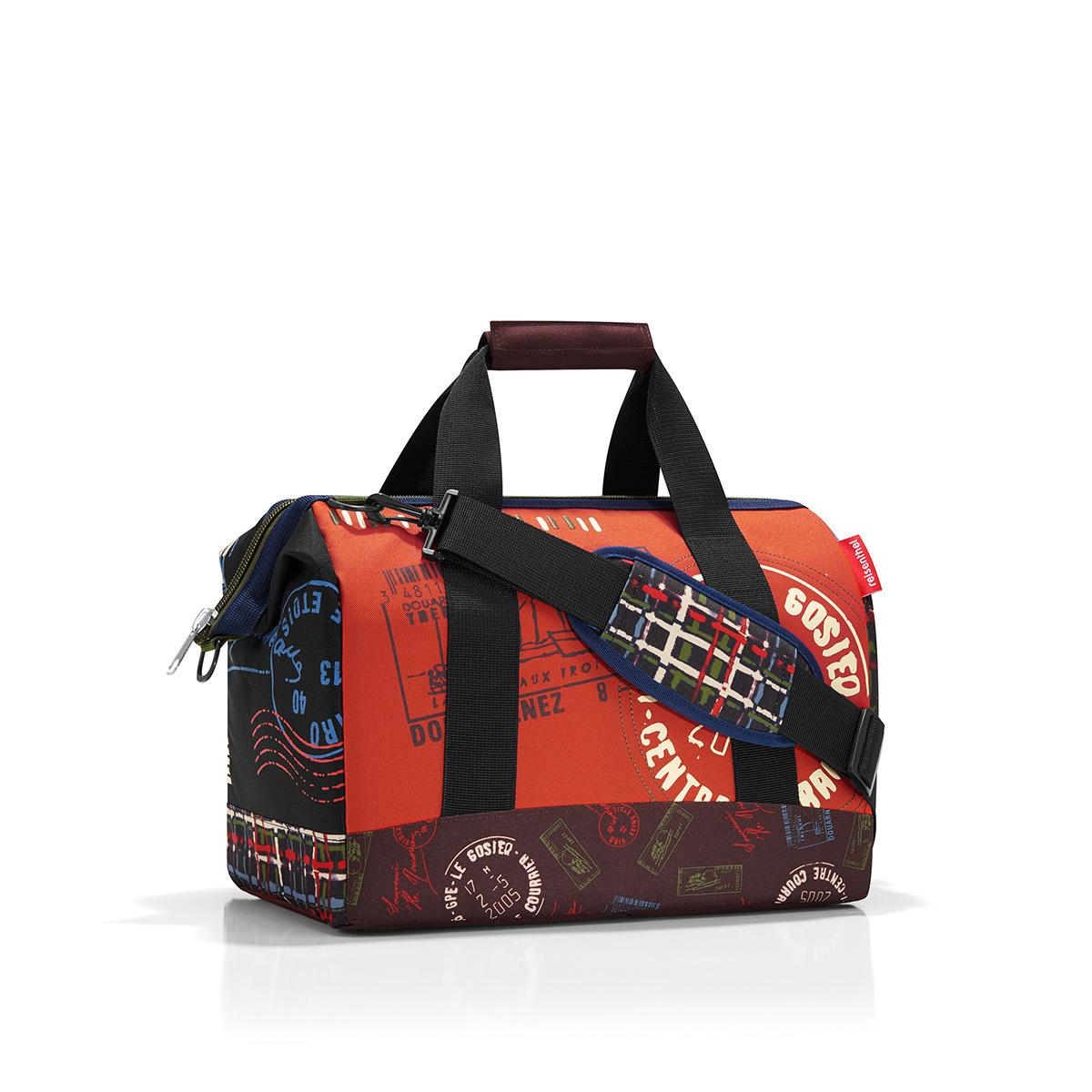 Сумка дорожная женская Reisenthel Allrounder, цвет: оранжевый. MS7037 сумка allrounder l special edition stamps