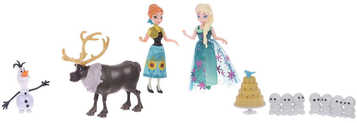 Disney Frozen Игровой набор Холодное Торжество Анна и Эльза disney frozen игровой набор олаф и холодное торжество