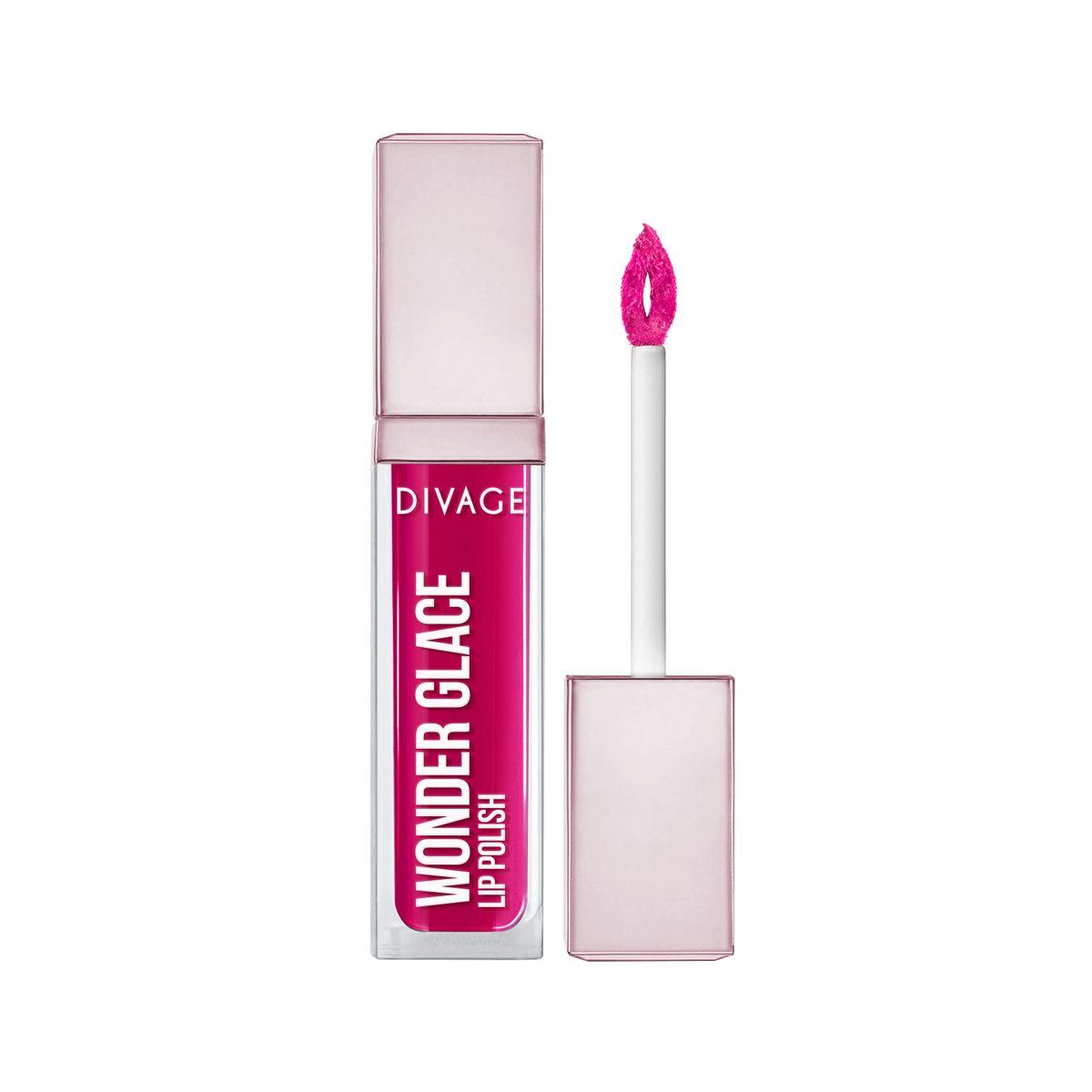 DIVAGE Лак для губ WONDER GLACE, тон № 05, 5 мл009318DIVAGE приготовил для тебя отличный подарок - лак для губ с инновационной формулой, которая придает глубокий и насыщенный цвет. Роскошное глянцевое сияние на твоих губах сделает макияж особенным и неповторимым. 8 самых актуальных оттенков, чтобы ты могла выглядеть ярко и привлекательно в любой ситуации. Особая форма аппликатора позволяет идеально прокрашивать губы и делает нанесение более комфортным. Лак не только смотрится ярко, но и увлажняет и защищает твои губы. Будь самой неповторимой этой весной и восхищай всех роскошным блеском и невероятно насыщенным цветом с лаком для губ «WONDER GLACE» от DIVAGE!