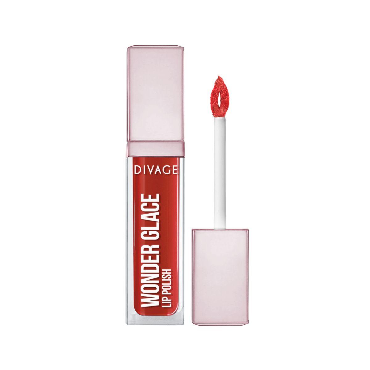 DIVAGE Лак для губ WONDER GLACE, тон № 06, 5 мл009325DIVAGE приготовил для тебя отличный подарок - лак для губ с инновационной формулой, которая придает глубокий и насыщенный цвет. Роскошное глянцевое сияние на твоих губах сделает макияж особенным и неповторимым. 8 самых актуальных оттенков, чтобы ты могла выглядеть ярко и привлекательно в любой ситуации. Особая форма аппликатора позволяет идеально прокрашивать губы и делает нанесение более комфортным. Лак не только смотрится ярко, но и увлажняет и защищает твои губы. Будь самой неповторимой этой весной и восхищай всех роскошным блеском и невероятно насыщенным цветом с лаком для губ «WONDER GLACE» от DIVAGE!