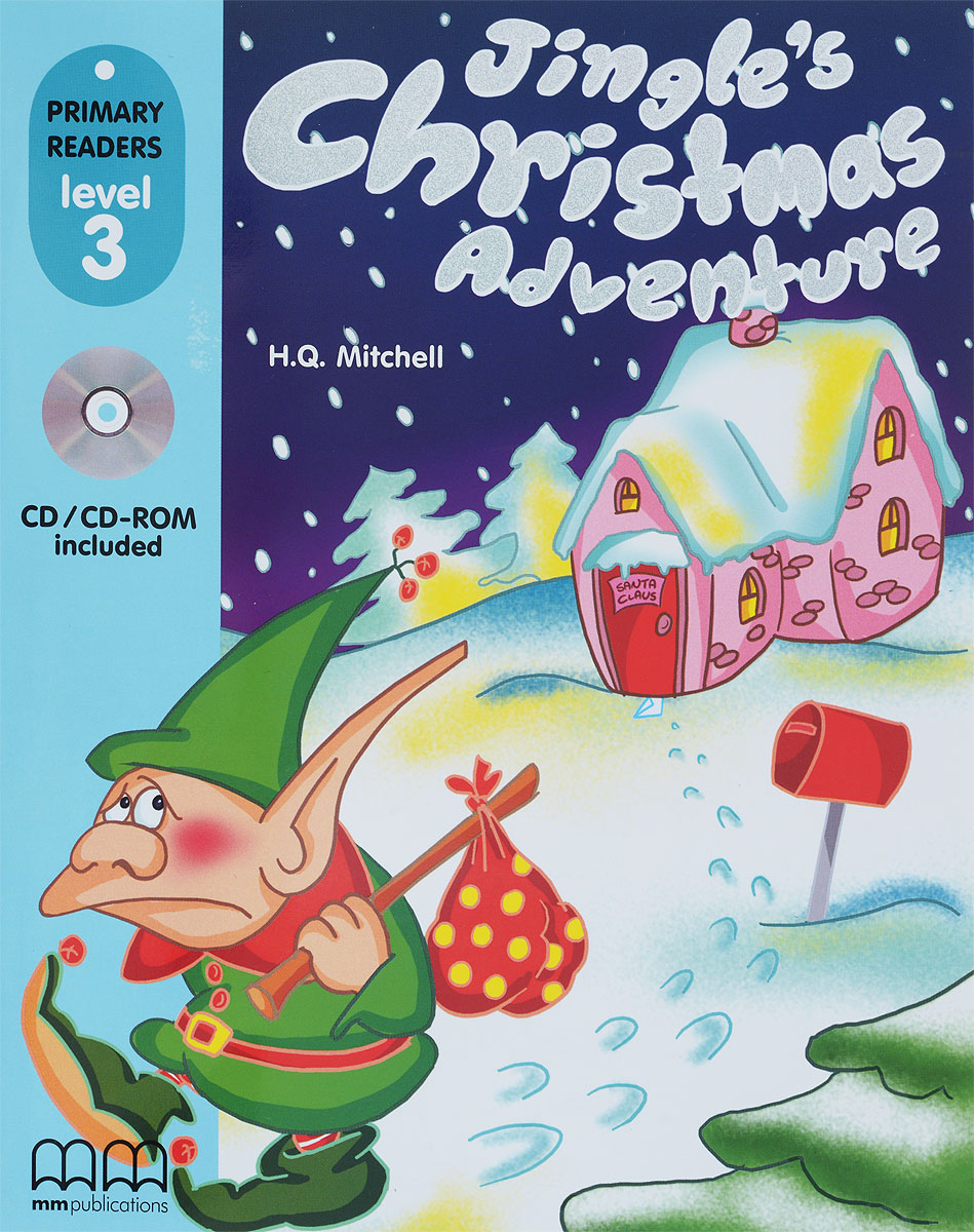 PRIMARY READERS - JINGLE'S CHRISTMAS ADVENTURE (WITH CD-ROM) delta adventure readers 2 danny s blog [with audio cd x1 ]