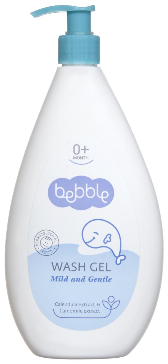 Bebble Гель для мытья, с экстрактом календулы и ромашки, от 0 месяцев, 400 мл -  Все для купания