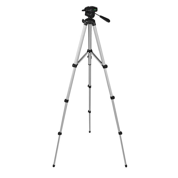 Era ELT-0312 штативELT-0312Штатив Era ELT-0312 серии Light с 3D головкой, съемной площадкой и подъемной штангой с фиксатором. Этот трипод отлично подходит для использования с фото и видеокамерами. Ножки с резиновыми наконечниками хорошо фиксируют штатив на любой поверхности.