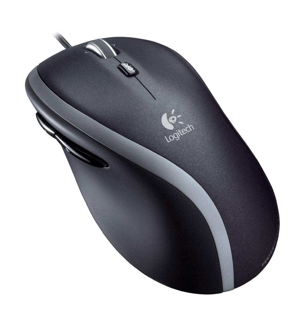 Logitech M500 Mouse (910-001202) компьютерная мышь910-001202Быстрая и удобная мышь Logitech M500 Mouse для продуктивной работы. Колесико сверхбыстрой прокрутки и точный лазерный датчик делают эту мышь ценным помощником в игре и работе. Идеальные размеры и эргономичная форма мыши обеспечивают высокий комфорт во время игры и работы. Две программируемые кнопки для большого пальца облегчают и ускоряют работу мышью.