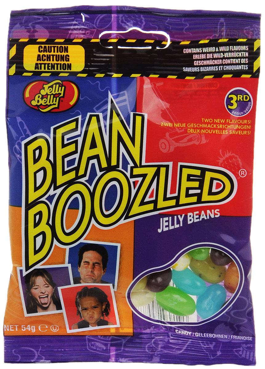Jelly Belly Драже жевательное Ассорти Bean Boozled, 54 гУТ-00000355Безумная коллекция от Jelly Belly: примешь ли ты вызов Bean Boozled, сравнивая вкуснейшие любимые желейные бобы с отвратительными? Вы никогда не узнаете какие из них окажутся неземным наслаждением, а какие — жутким разочарованием. Бобы со вкусом сочной груши не отличить от бобов с ароматом сочных соплей! Сладкая карамельная кукуруза в Bean Boozled может оказаться протухшим сыром. В серии Бин Бузлд единственный шанс узнать вкус желейных бобов — это рискнуть и попробовать. Зови друзей и подруг: проверь кто из них самый смелый и удачливый.Внимание! Упаковка содержит странные вкусы: вонючие носки, скошенная трава, тухлое яйцо, зубная паста, собачий корм, детские подгузники.