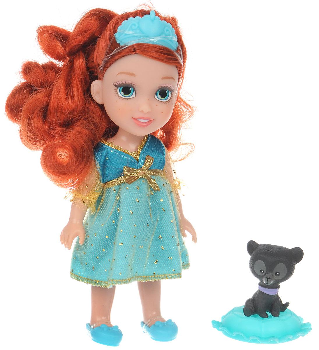 Disney Princess Мини-кукла Petite Merida & Bear