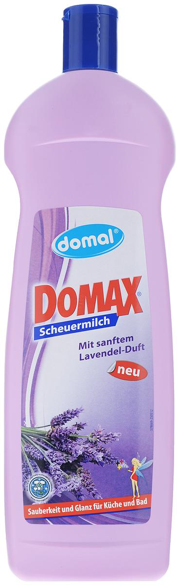 Чистящее средство для ванны и кухни Domax Лаванда, 750 мл159311Эффективное, сильнодействующее средство Domax Лаванда предназначено для основательного, но в то же время бережного удалению любых, даже стойких загрязнений с твердых поверхностей на кухне, в ванной и во всем доме. Благодаря своей специальной формуле прекрасно смывается с поверхностей. Крем-молочко без особых усилий, тщательно и бережно очищает даже застарелые грязь, известковые отложения и жир. Не оставляет царапин и разводов на очищаемых поверхностях. Бережно относится к коже рук, не раздражает ее.Состав: менее 5% неионных ПАВ, анионные ПАВ, консерванты, натуральные чистящие вещества, душистые вещества.Товар сертифицирован.