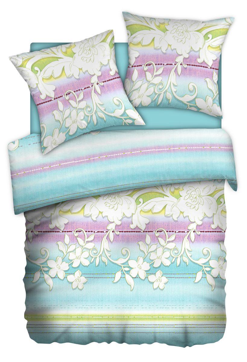 Комплект белья Carte Blanshe Jade, 1,5-спальный, наволочки 70x70, цвет: голубой. 333455333455Комплект белья Carte Blanshe - это роскошное постельное белье из эксклюзивной коллекции, созданной итальянскими дизайнерами прекрасногостаринного городка Италии - Riva del Gard. Постельное белье выполнено из великолепной ткани премиум - класса Percale Soft Touch. Эта ткань произведена из 100% натурального хлопкаимеет специальную обработку Wise Silk, которая придает дополнительную гладкость и шелковистость ткани. Благодаря специальной обработке ткань более приятная на ощупь, практически не мнется.