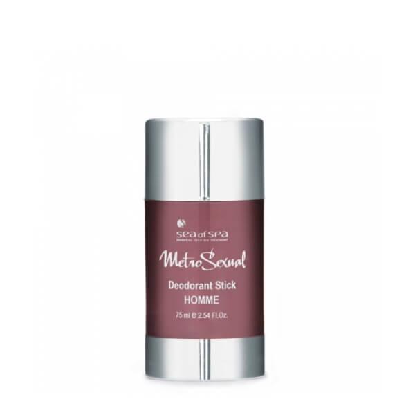 Sea of Spa Дезодорант-стик длительного действия, 75 мл62067- защищает от пота и запаха до 24 часов;- ухаживает за кожей: смягчает, убирает раздражения;- быстро впитывается и не оставляет следов на одежде;- имеет ненавязчивый мужской парфюмированный аромат.