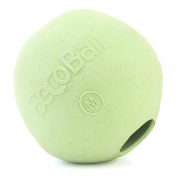 Игрушка для собак Beco Мяч, цвет: зеленый, размер M, 6,5 см, 210 г4016Игрушки изготовлены из нового революционного экоматериала, состоящего из шелухи риса и каучука. Игрушки нетоксичные, экологически чистые и абсолютно безопасные для собак