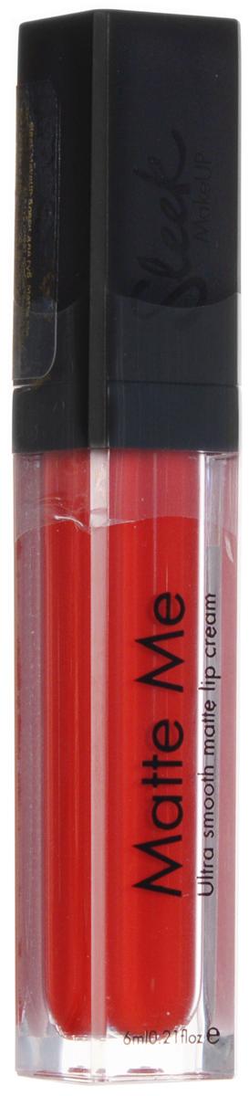 SLEEK MAKEUP Блеск для губ Matte Me Rioja Red 433, мл96078754блеск скользит по губам и придает им невероятно насыщенный оттенок.Идеальное нанесение в один слой.Хорошая стойкость и матовый эффект на губах. Не скатывается и не сушит губы.