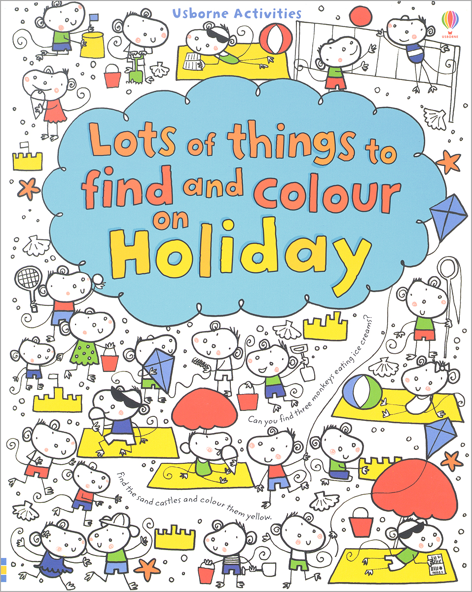 Lots of Things to Find and Colour: On Holiday 50 things to spot in london набор из 52 карточек