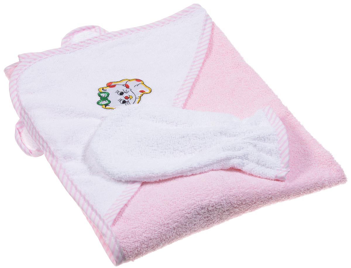 Фея Комплект для купания 2 предмета цвет розовый -  Все для купания