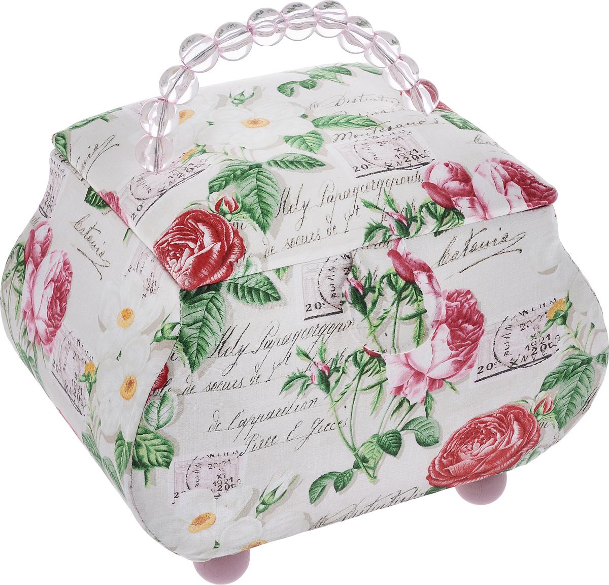 Шкатулка для рукоделия RTO Посылка, 26,5 х 20 х 21 см шкатулка для рукоделия rto цветочки с вкладышем 23 х 23 х 14 5 см