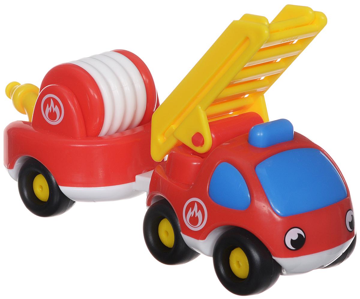 Smoby Пожарный мини-грузовик с прицепом smoby детская горка king size цвет красный