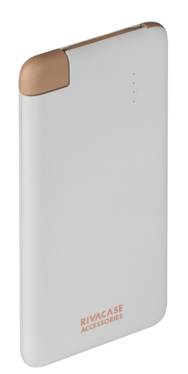 Rivapower VA 2004 внешний аккумуляторVA 2004Литий-полимерный внешний аккумулятор Rivapower VA 2004емкостью 4000 мАч совместим со всеми популярными моделями смартфонов и планшетов. Для удобства устройство оснащено встроенным micro - USB кабелем - вам не нужно носить дополнительных кабелей!Защита от перегрузок, короткого замыкания, чрезмерного заряда и разряда обеспечат долгий срок службы устройства и предотвратят его преждевременную порчу. Достаточно подключить кабель к micro - USB разъему мобильного устройства, чтобы зарядка началась, а по ее завершении аккумулятор автоматически отключится. Для проверки уровня заряда просто несильно хлопните по корпусу аккумулятора и 4 светодиодных индикатора на лицевой стороне покажут оставшийся уровень.Вы можете зарядить ваш смартфон до 2 раз, в зависимости от емкости батареи мобильного устройства. Rivapower VA 2004 при правильной эксплуатации может быть заряжен и разряжен более чем 500 раз. Компактный и стильный дизайн позволяет носить аккумулятор даже в кармане.