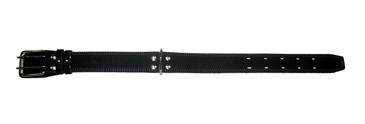 Ошейник Аркон Стандарт, цвет: черный, ширина 4,5 см, длина 69 см. о45/2с