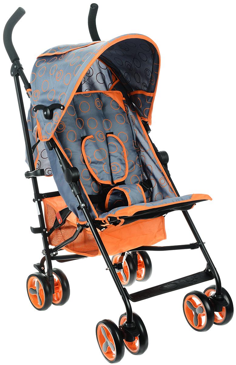 Melogo Детская коляска цвет черный оранжевый - Коляски и аксессуары