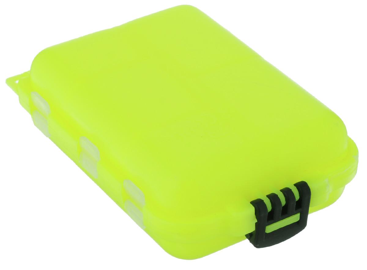 Органайзер для мелочей,, двухсторонний, цвет: желтый, 9,5 х 6 х 2,5 см679531/8952633_ желтыйУдобная пластиковая коробка Три кита прекрасно подойдет для хранения и транспортировки различныхмелочей: рыболовных снастей, мелких бусин, аксессуаров для рукоделия и многого другого. Коробка имеет 10фиксированных секций, каждая из которых закрывается прозрачной крышечкой.Удобный замок обеспечивает надежное закрывание коробки. Такая коробка поможет хранить мелкие вещи впорядке. Размер секций: 4 х 2,5 см; 3 х 2,5 см; 2,5 х 2,5 см.