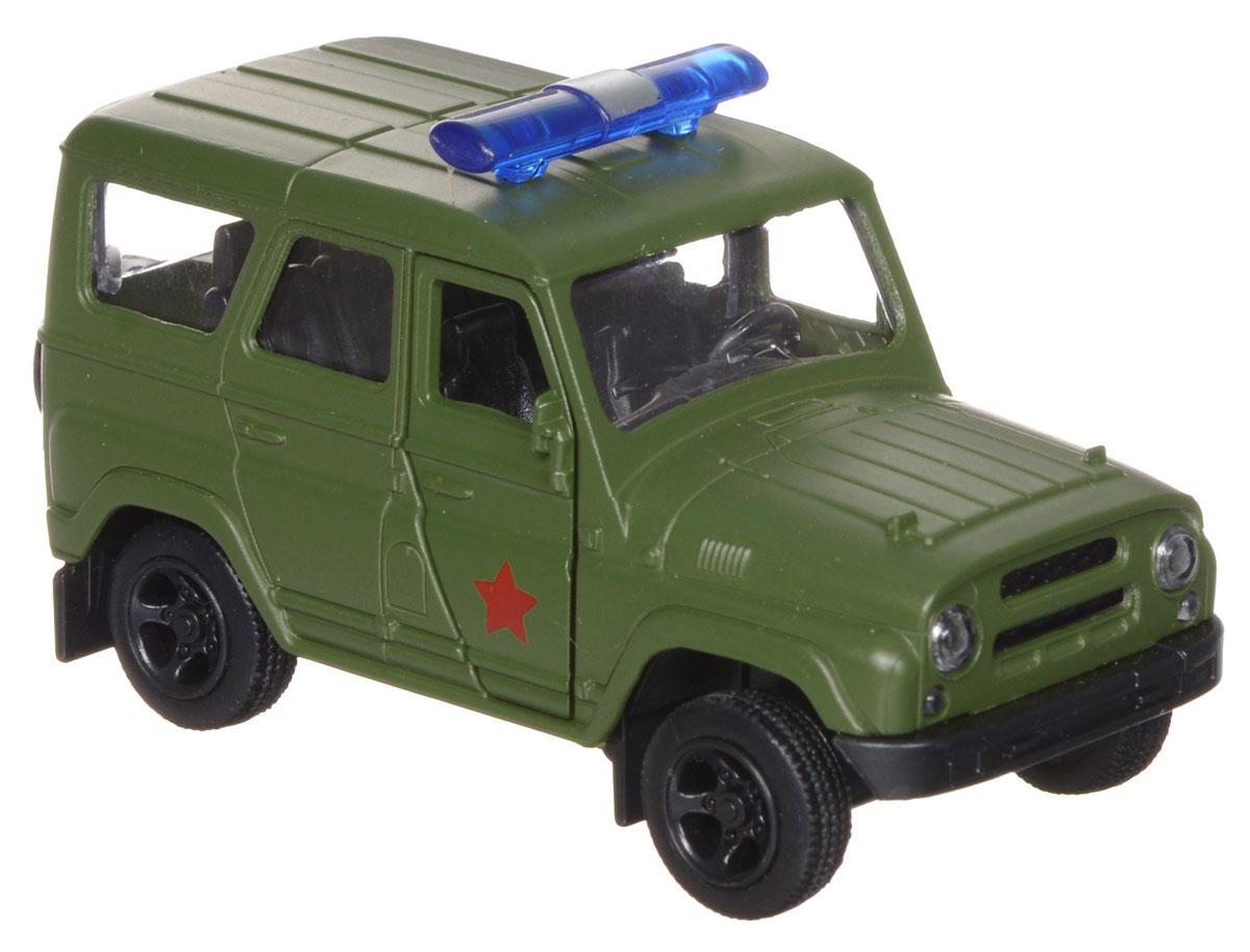 ТехноПарк Модель автомобиля УАЗ Hunter Военная полиция tonka машинка полиция
