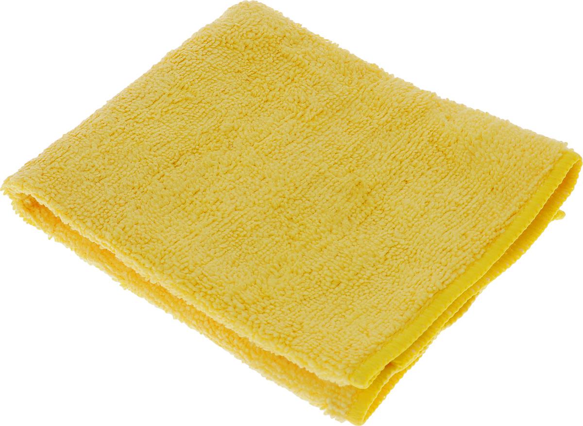Салфетка чистящая Sapfire Cleaning Сloth, цвет: желтый, 35 х 40 смSFM-3001_жёлтыйБлагодаря своей уникальной ворсовой структуре, салфетка Sapfire Cleaning Сloth прекрасно подходит для мытья и полировки автомобиля.Материал салфетки: микрофибра (85% полиэстер и 15% полиамид), обладает уникальной способностью быстро впитывать большой объем жидкости. Клиновидные микроскопические волокна захватывают и легко удерживают частички пыли, жировой и никотиновый налет, микроорганизмы, в том числе болезнетворные и вызывающие аллергию. Салфетка великолепно удаляет пыль и грязь. Протертая поверхность становится идеально чистой, сухой, блестящей, без разводов и ворсинок. Микрофибра устойчива к истиранию, ее можно быстро вернуть к первоначальному виду с помощью машинной стирки при малом количестве моющих средств. Состав: 85% полиэстер, 15% полиамид.Размер салфетки: 35 х 40 см.