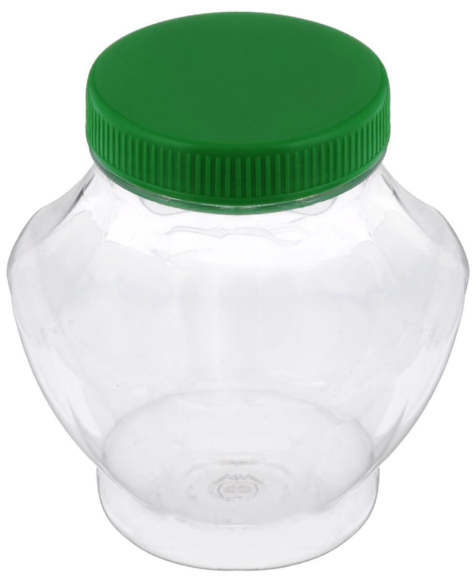 """Банка для меда """"Альтернатива"""", изготовленная из высококачественного пластика, оснащена плотно закрывающейся крышкой. Элегантная банка для меда  """"Альтернатива"""" идеально подойдет для сервировки стола и станет отличным  подарком к любому празднику.  Диаметр (по верхнему краю): 6 см.  Высота: 11 см."""