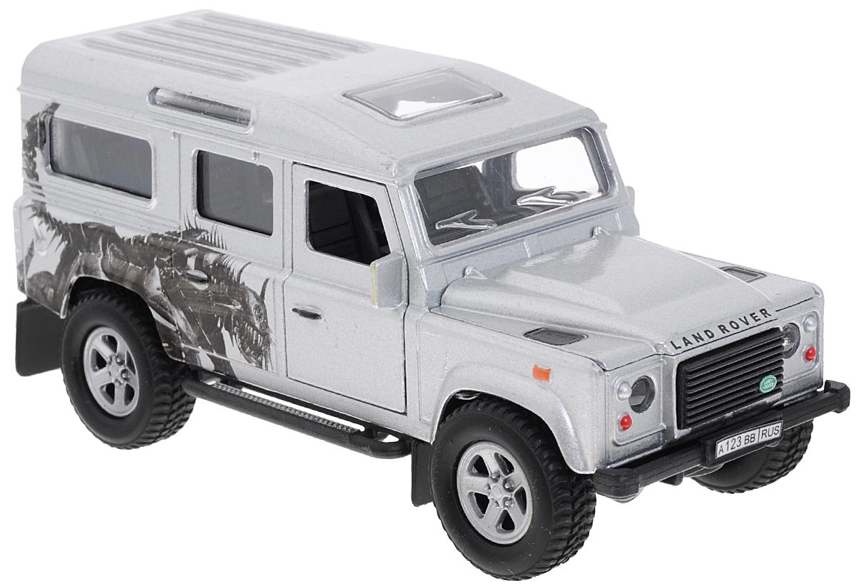 Пламенный мотор Машинка инерционная Land Rover Defender Трансформер машина пламенный мотор volvo v70 пожарная охрана 870189
