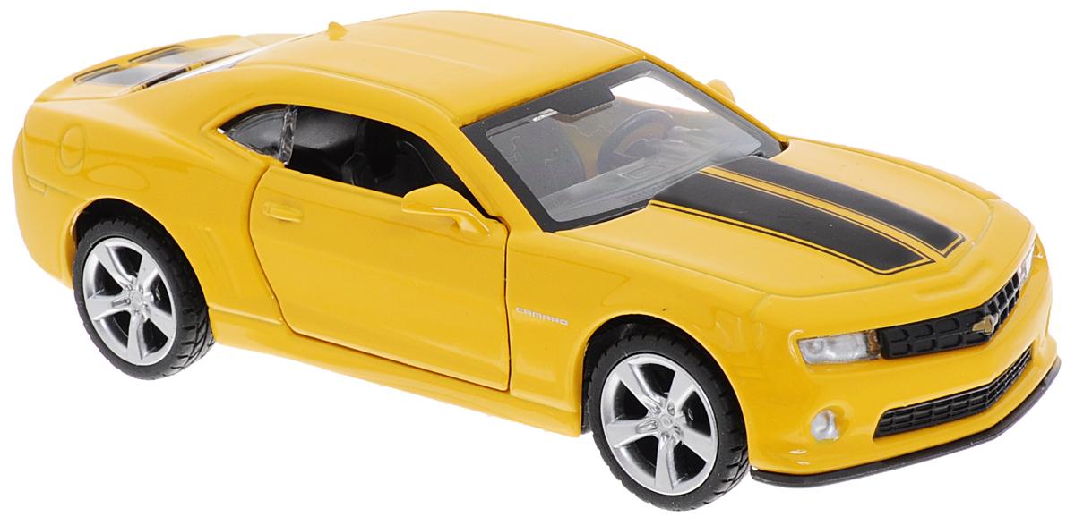 ТехноПарк Модель автомобиля Chevrolet Camaro цвет желтый машинка chevrolet camaro 1969 imperial black edition 49924
