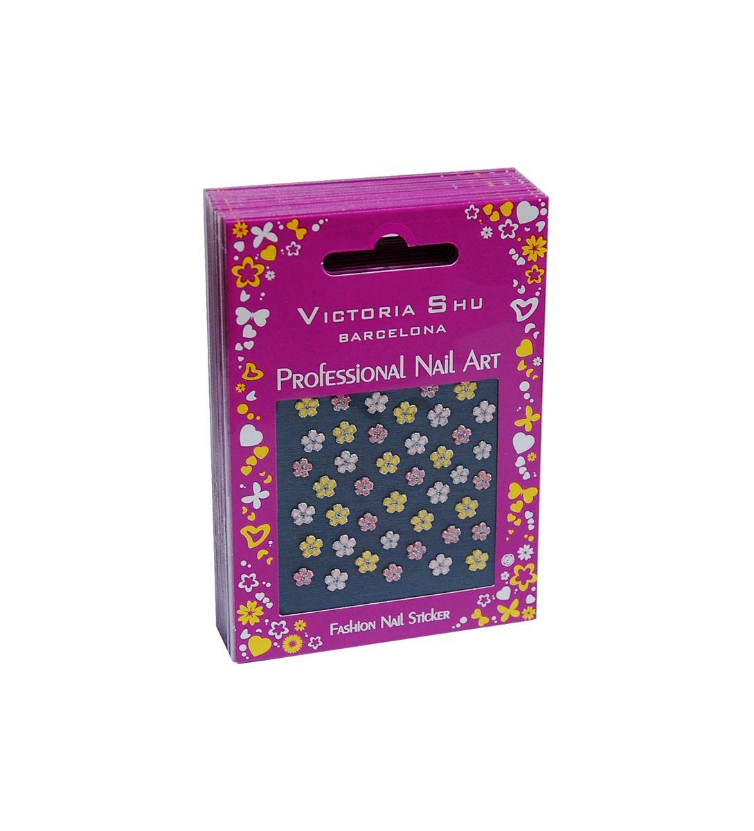 Victoria Shu NS012 Комплект наклеек для ногтей, 12 шт1082V15672Наклейки для ногтей позволяют украсить ногти так, как это невозможно сделать при помощи обычного лака.