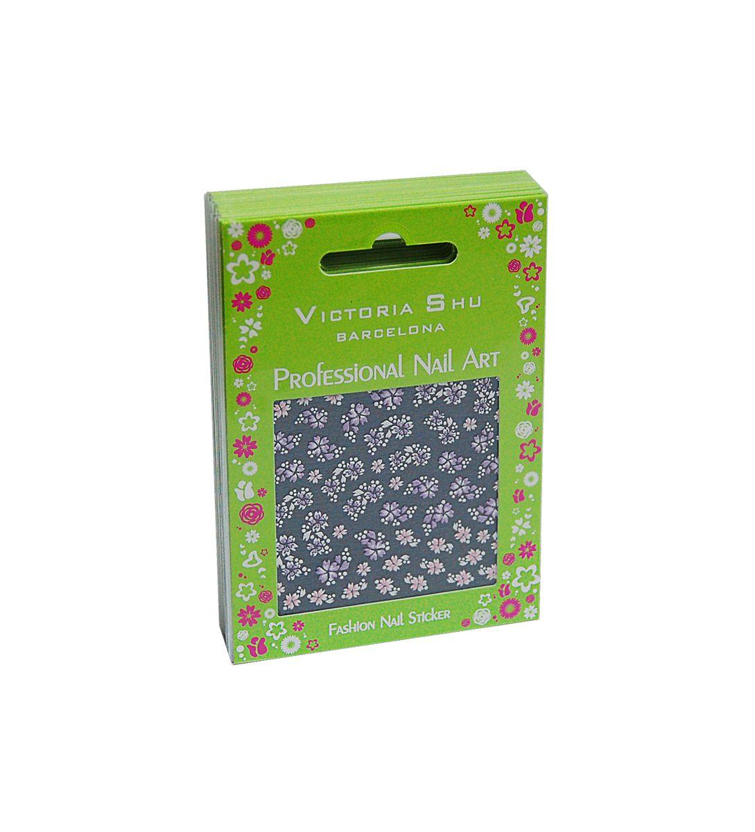 Victoria Shu NS011 Комплект наклеек для ногтей, 12 шт лаки для ногтей victoria shu лак для ногтей extreme colour 221