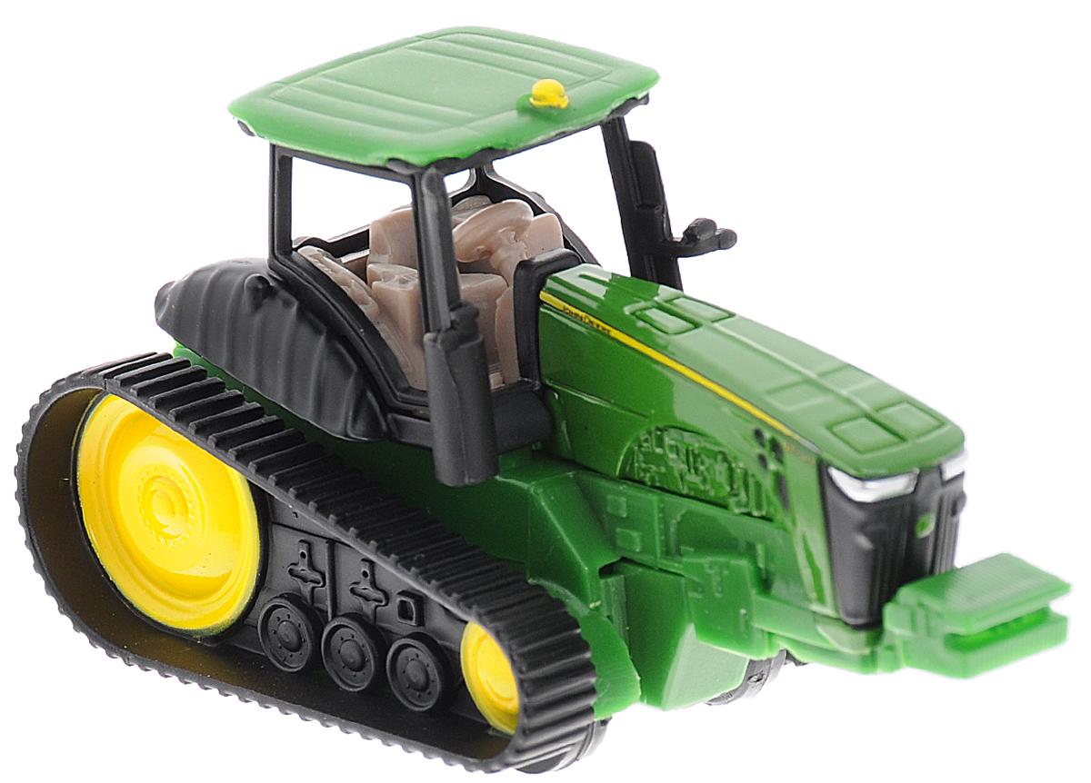 Siku Трактор гусеничный John Deere 8360 RT трактор tomy john deere зеленый 19 см с большими колесами звук свет
