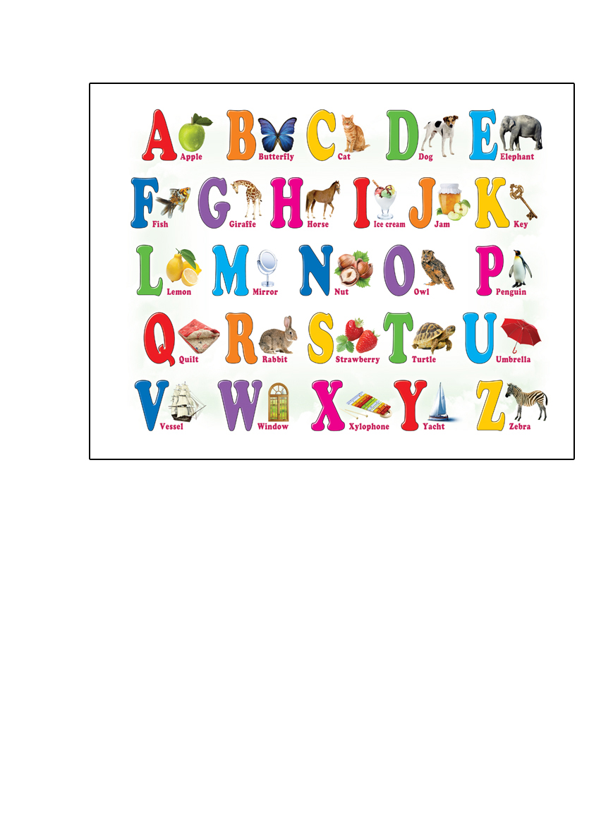 Шпаргалки для мамы Обучающая игра Английский алфавит на магнитах