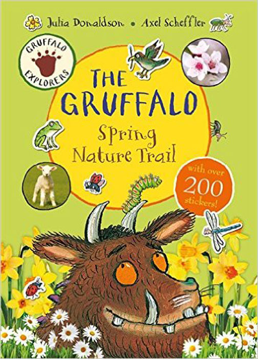 Gruffalo Explorers: The Gruffalo Spring Nature Trail (+ стикеры) the gruffalo s child sticker book
